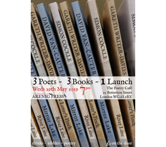 3 Poets ~ 3 Books ~ 1 Launch